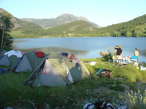 Noorwegen met de tent