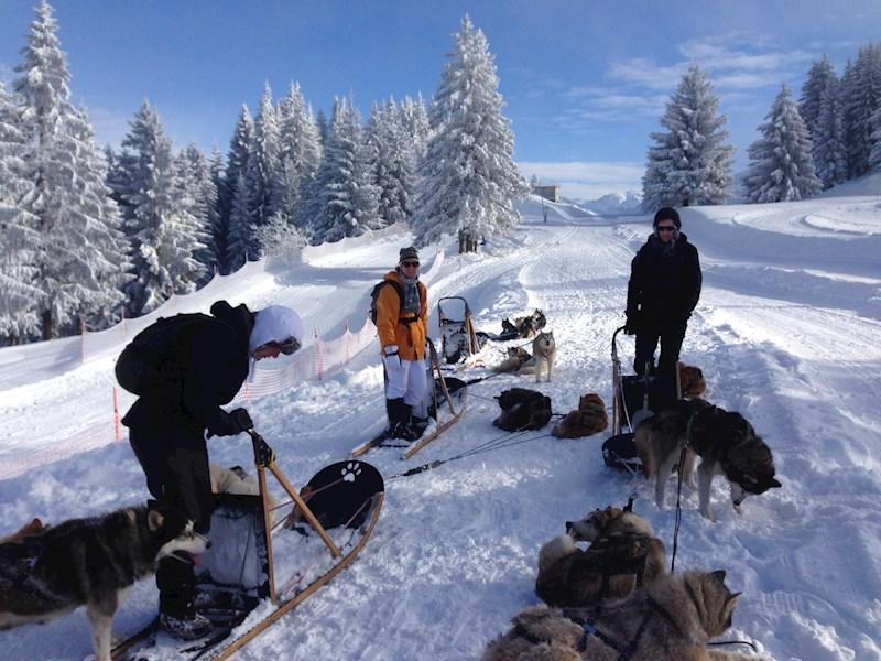 Winters plezier in de Haute-Savoie