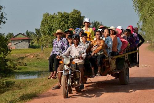 Verwondering in Cambodja