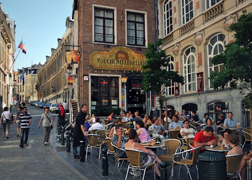 Zomers Brussel