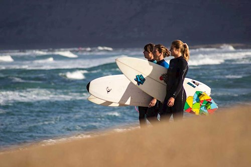 Surfsfeer in Portugal