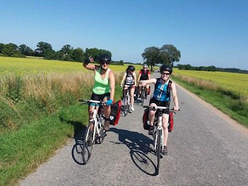 Met de fiets dwars door België