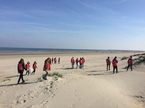 Duurzame wandeling aan zee: Beach clean up