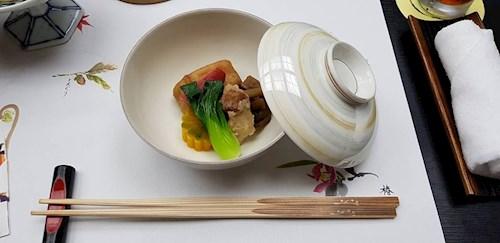 De zuivere smaken van de Japanse keuken