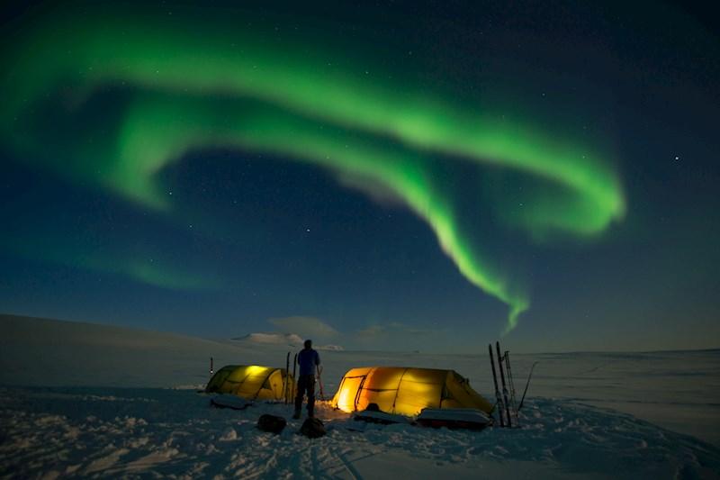 Husky-expeditie in Noors Lapland