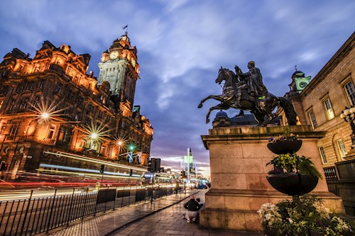 Edinburgh en omgeving, Schotland