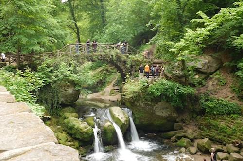 Het Mullerthal in Klein Zwitserland, Luxemburg