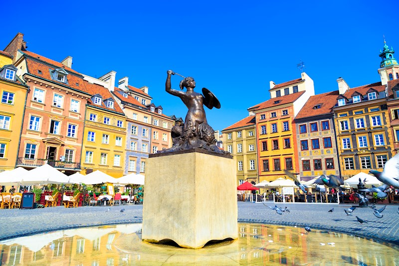Warschau en Krakau